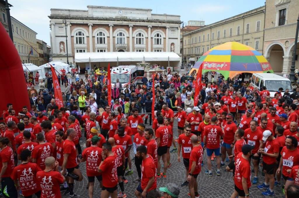 partenza run for red cross
