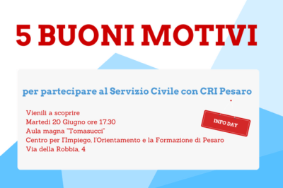 info day servizio civile